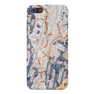 Carte de l'Europe centrale, 1486 Étuis iPhone 5