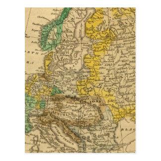 Carte de l'Europe par Worcester