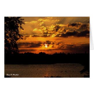 Carte de lever de soleil