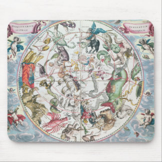 Carte de l'hémisphère sud 2 tapis de souris