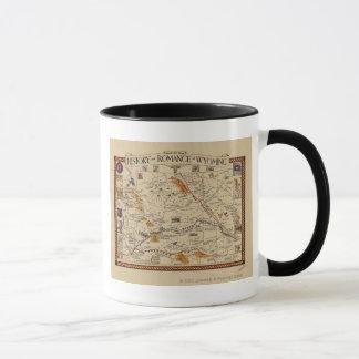 Carte de l'histoire et Romance du Wyoming Mug