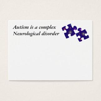 Carte de l'information d'autisme personnalisable