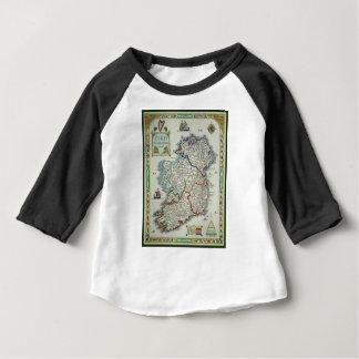 Carte de l'Irlande - carte historique d'Eire Erin T-shirt Pour Bébé