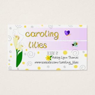 Carte de lis de Caroling
