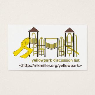 Carte de liste de discussion de Yellowpark