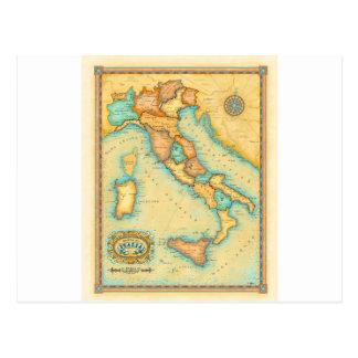 Carte de l'Italie