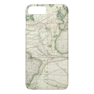 Carte de l'Océan Atlantique Coque iPhone 8 Plus/7 Plus