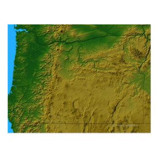 Carte de l'Orégon