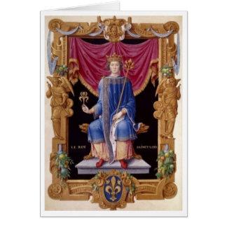 Carte de Louis IX Boyking