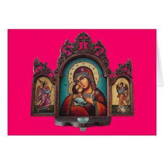 Carte de Madonna Tryptich