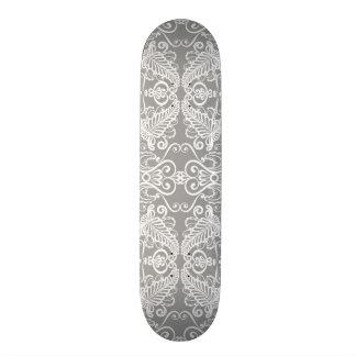 Carte de mariage skateboards customisés