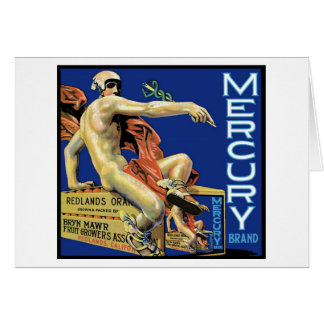 Carte de marque de Mercury