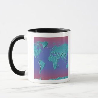 Carte de masse de terre mug
