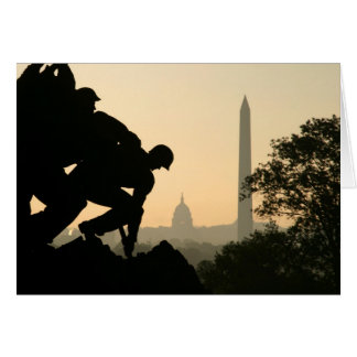 Carte de matin d'Iwo Jima