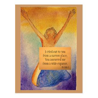 Carte de méditation sur la gratitude