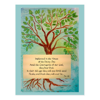 Carte de méditation sur vieillir