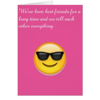 Carte de meilleur ami