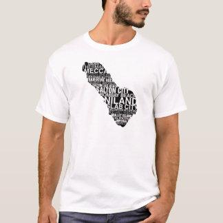 Carte de mot de mer de Salton : Lumière T-shirt