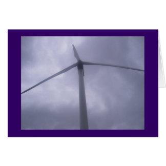 Carte de moulin à vent
