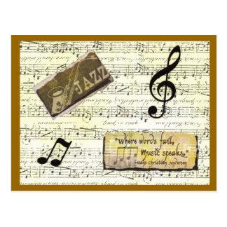 Carte de musique