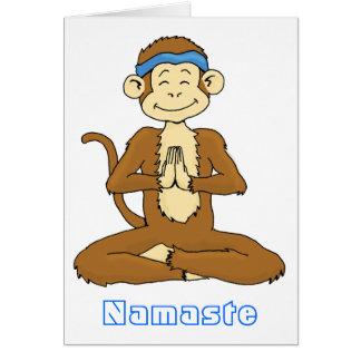 Carte de Namaste