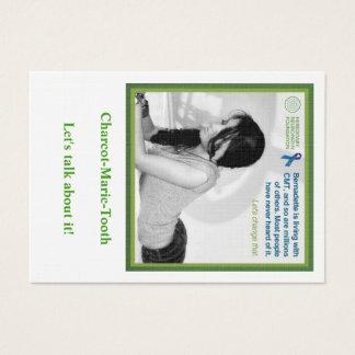 Carte de neuropathie de Bernadette