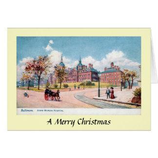 Carte de Noël - Baltimore, le Maryland