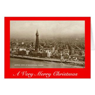 Carte de Noël, Blackpool