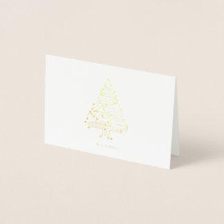 Carte de Noël Brillant