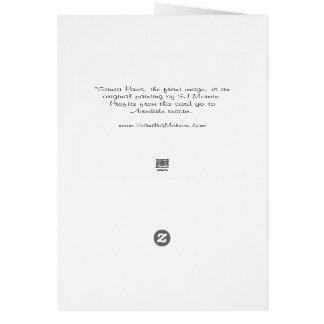 """Carte de Noël d'Airedale : """"Pattes de Père Noël """""""