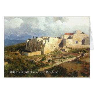 Carte de Noël de Bethlehem