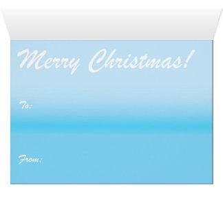 Carte de Noël de cabine de Milou