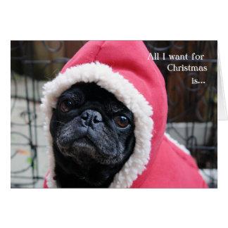 Carte de Noël de carlin