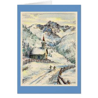 Carte de Noël de chapelle de Paul McGehee