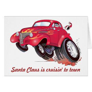 Carte de Noël de Chevy de Père Noël 39