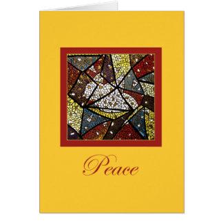 Carte de Noël de colombe de paix (Saint-Esprit)