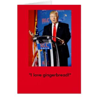 Carte de Noël de Donald Trump