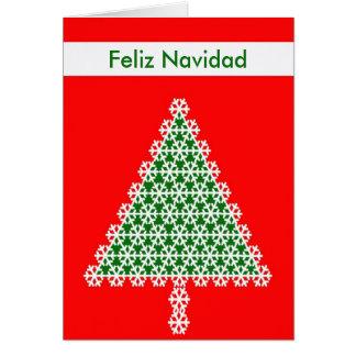 Carte de Noël de Feliz Navidad