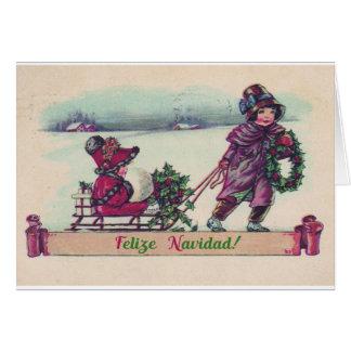 Carte de Noël de Felize Navidad