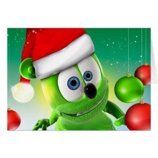 Carte de Noël de Gummibär