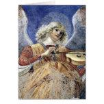 Carte de Noël de la Renaissance de beaux-arts