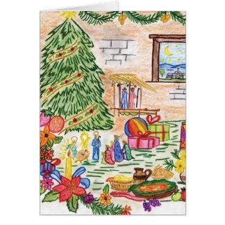 Carte de Noël de Lisbeth