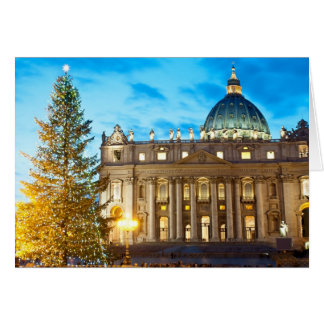 Carte de Noël de magazine de l'Italie - Vatican