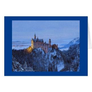 """Carte de Noël """"de majesté bavaroise"""" de Paul"""
