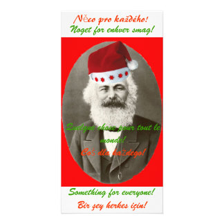 Carte de Noël de Marx Photocarte