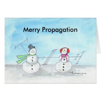 Carte de Noël de MerryPropagation