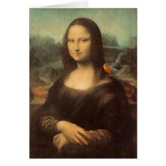 Carte de Noël de Mona Lisa