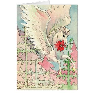 Carte de Noël de Pegasus
