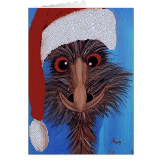 Carte de Noël de petit Ed