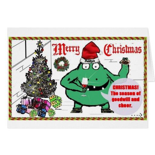 """Carte de Noël de """"Puddigan"""""""